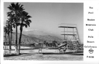 The Pool Shadow Mountain Club Palm Desert California
