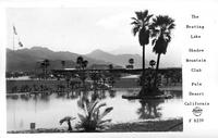The Boating Lake Shadow Mountain Club Palm Desert California