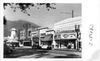 Business District Monrovia California