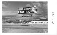 Post Office at Apple Valley Ranchos
