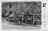 Snack Bar and Patio at Thompson's Summit Grove Palomar Mountain California