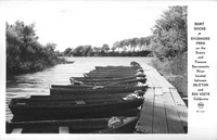 Boat Docks at Sycamore Park On the Scenic and Famous Sacramento River Located Between Isleton and Rio Vista California