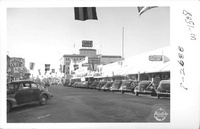 Looking North on 17th St. - Merced Calif. [Caption from Frasher Indexes]