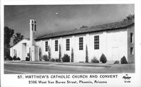 St. Matthew's Catholic Church and Convent 2106 West Buren Street, Phoenix, Arizona