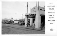 U.S. Customs House Naco Arizona