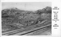 New Cornelia Open Pit Mine of the Phelps Dodge Corporation at Ajo Arizona