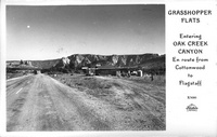 Grasshopper Flats entering Oak Creek Canyon en route from Cottonwood to Flagstaff