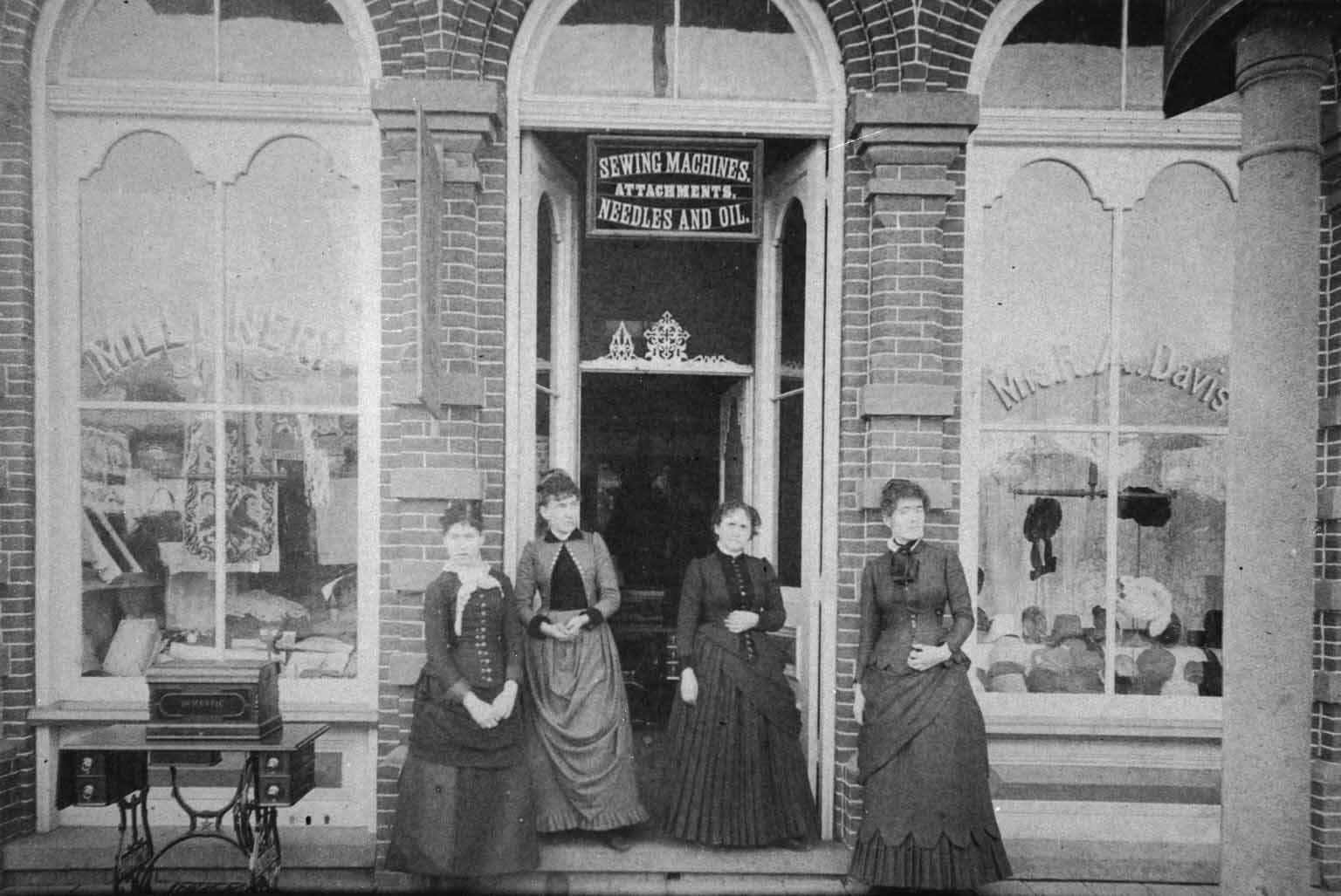Mrs. R. A. Davis Millinery Shop 61d023a2179