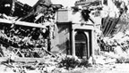Damage in the 1933 earthquake to Jefferson Jr. High School in Long Beach