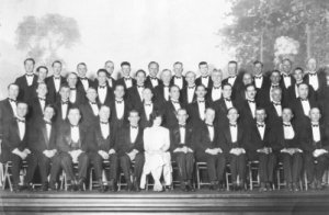 Santa Ana Cantando Club in 1927