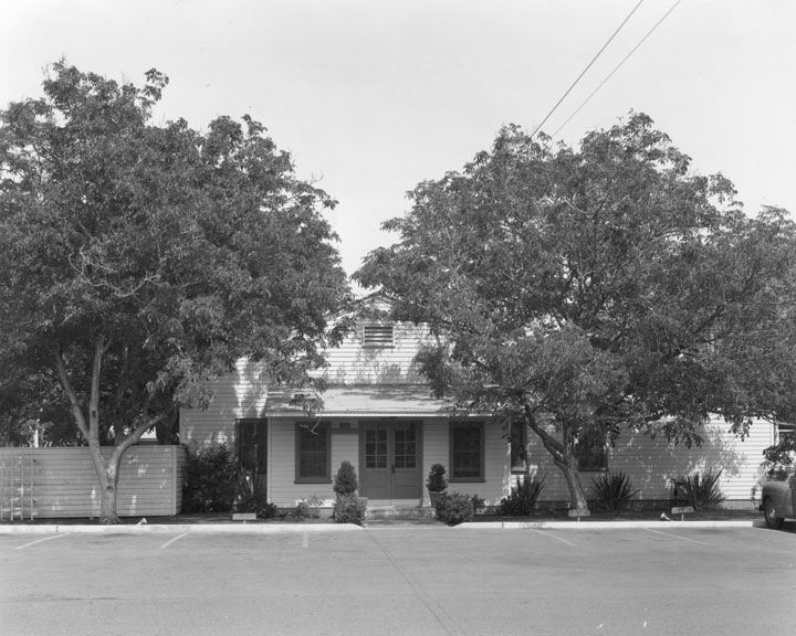 Officers Mess at the West Coast Air Corps Training Center in 1943