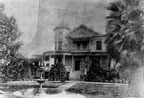 D. H. Thomas residence on the corner of First and Lyon Streets near Tustin