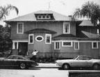 Original north elevation of Dr. J. A. Hatch house in  1970