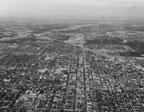 Aerial view of Santa Ana dated April 20, 1961