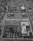 Aerial view of the Orange County Civic Center on September 13, 1966