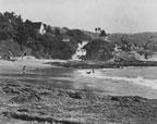 Beach front homes at Laguna Beach