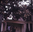 Front porch view of Ross and McNeal home at 1120 N. Baker