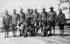 """Group picture of """"The Dirty Dozen"""" Hike to Balboa in April 1912"""