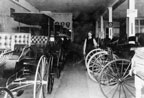 Wm. F. Lutz Co., Carriage Shop on Fourth & French Streets about 1900