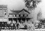Old Santa Ana Hotel on 4th and Main about 1880