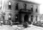 An early meeting of the Orange County Historical Society