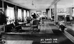 Interior view of St. Ann's Inn, was located at 6th and Broadway