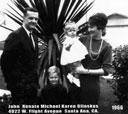 The John Glinskas family in 1966
