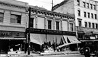 Damage from the 1933 earthquake at F. W. Woolworth Co. store
