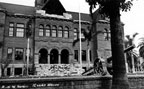 Damage at the Court House from the March 1933 earthquake