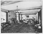 Living Room of the Philip Stanton residence on Brookhurst Road in Anaheim