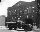 Fire Station #1 and the 1921 Seagrave Fire Engine Truck