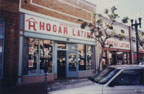 Hogar Latino furniture store on 318 E. 4th Street and 316 E. 4th Street.