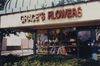 """Grace's Flowers at """"Downtown Plaza"""" on 307 E. 1st Street"""