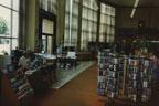 Reading room at the Santa Ana Public Library at 26 Civic Center Plaza on April 1990