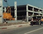 Santa Ana Transit Terminal under construction