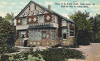 Home of D. Edson Smith, built by Mrs. D. Edson Smith in 1909