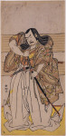 The actor Nakamura Sukegoro II as Sasaki ---tane, a feudal lord