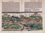 View of Salzburg, from Hartmann Schedel, Nuremburg Chronicle