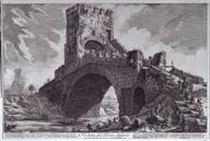 Veduta del Ponte Salario, from Vedute di Roma