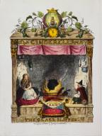 Cinderella in the chimney-corner, frontispiece to Cinderella and the Glass Slipper