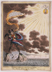 Boney's meditations on the Island of St. Helena--or--The Devil addressing the Sun