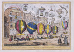 """A Scene in the Farce of """"Lofty Projects"""" as performed with great success for the Benefit & amusement of John Bull Ano D 1825"""