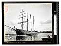 """[Bendixsen Ship yard - """"Jane Stanford"""" just launched/unknown]"""