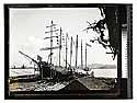 """Bendixsen's Ship Yard,Eureka [Bendixsen Shipyard about 1900 - Ship the """"Jane Stanford""""/unknown]"""