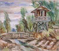 Watch Tower, Rohwer Camp