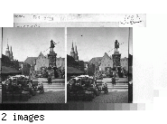 Franenkirke Square. Germany. Nuremberg.