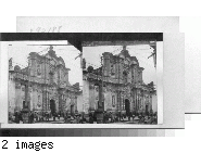 Sunday morning before the superb old Spanish church, La Compania, Quito, Ecuador.