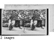 Tomb of Lazarus. Bethany. Palestine.