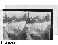 Passaic Falls From Fort Bridge, Paterson, N.J.