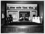 Photograph of a theatrical production at Mills College
